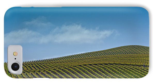 IPhone Case featuring the photograph Spring Vineyard by Kim Wilson