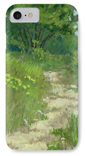 Spring Walk IPhone Case by David King