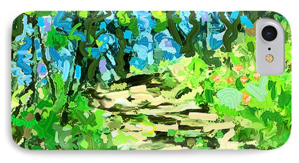 Spring Wood Path  IPhone Case