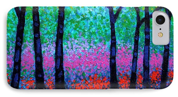 Spring Woodland IPhone Case by John  Nolan