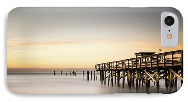 Springmaid Pier Mathew Aftermath Phone Case by Ivo Kerssemakers