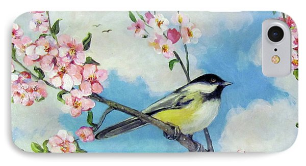 IPhone Case featuring the painting Spring's Promise by Donna Tucker