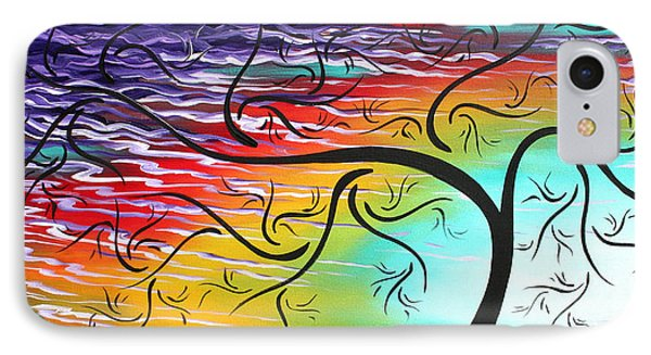 Springs Song By Madart Phone Case by Megan Duncanson