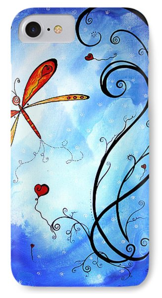 Springs Sweet Song Original Madart Painting Phone Case by Megan Duncanson