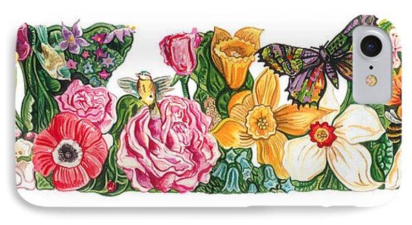 Springtime Flowers IPhone Case by John Keaton