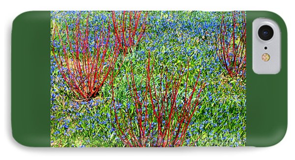 IPhone Case featuring the photograph Springtime Impression by Ann Horn