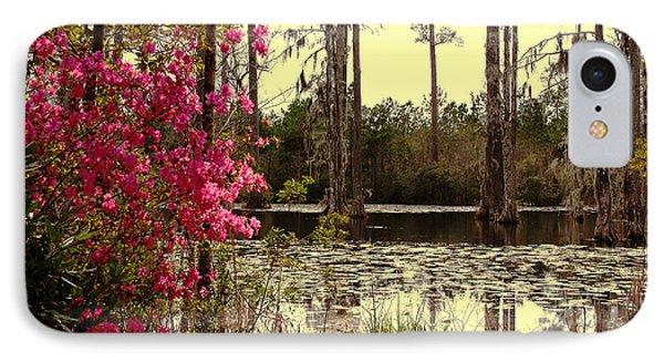 Springtime In The Swamp Phone Case by Susanne Van Hulst