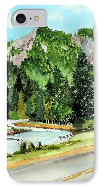 Springtime Poudre Canyon IPhone Case by Tom Riggs