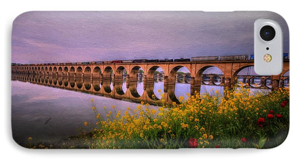 IPhone Case featuring the photograph Springtime Reflections From Shipoke by Shelley Neff
