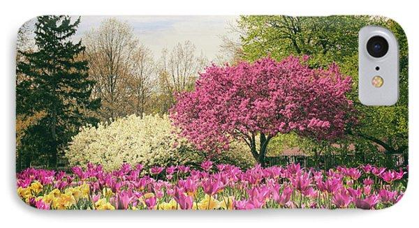 Springtime Tulips IPhone Case by Jessica Jenney