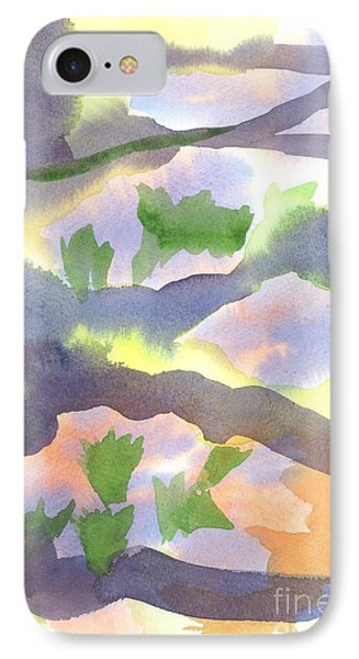 IPhone Case featuring the painting Springtime Wildflower Camouflage  by Kip DeVore