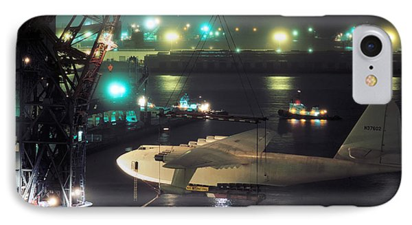 Spruce Goose Hanging From Crane February 10 1982 IPhone Case