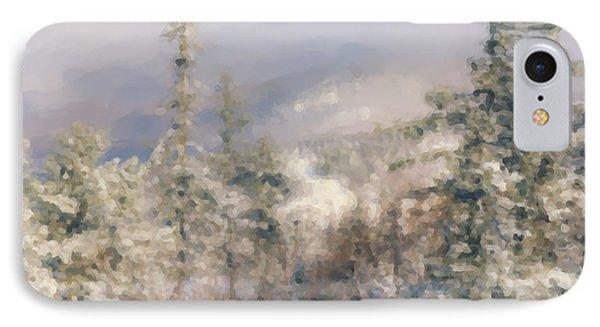 Spruce Peak Summit At Sunday River IPhone Case