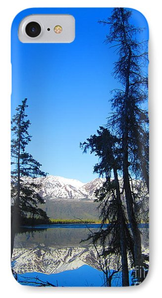 Spruce Stories IPhone Case by Heather Hiland