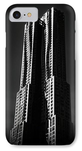 IPhone 7 Case featuring the photograph Spruce Street By Gehry by Jessica Jenney