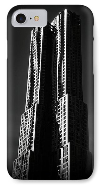 IPhone Case featuring the photograph Spruce Street By Gehry by Jessica Jenney