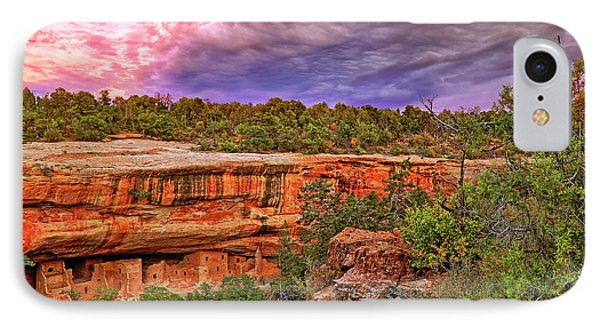 IPhone Case featuring the photograph Spruce Tree House At Mesa Verde National Park - Colorado by Jason Politte
