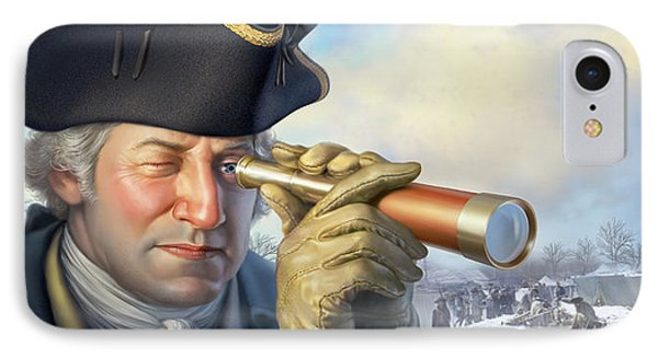 Spymaster George IPhone Case by Mark Fredrickson