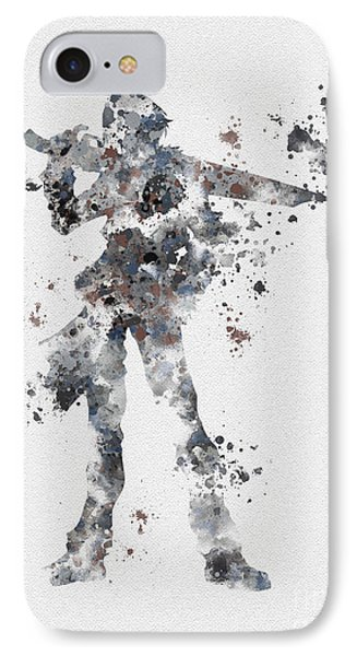 Squall Leonhart IPhone Case by Rebecca Jenkins