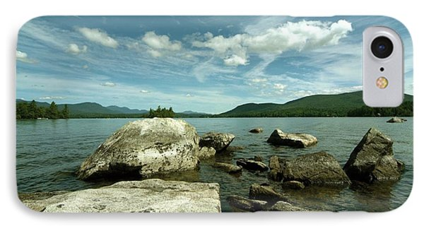 IPhone Case featuring the photograph Squam Lake On The Rocks by Rick Frost