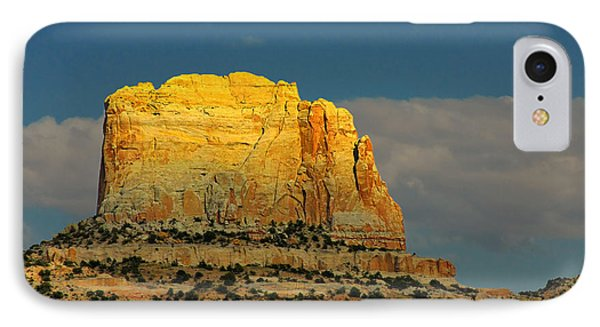 Square Butte - Navajo Nation Near Kaibeto Az Phone Case by Christine Till