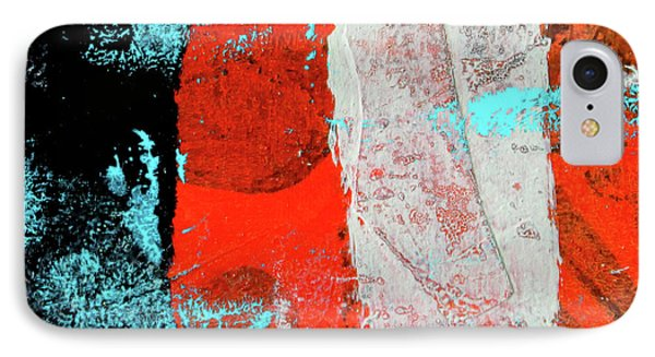 IPhone Case featuring the mixed media Square Collage No. 9 by Nancy Merkle