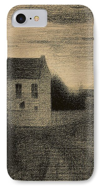 Square House IPhone Case