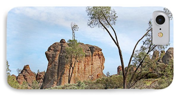 IPhone Case featuring the photograph Square Rock Formation by Art Block Collections