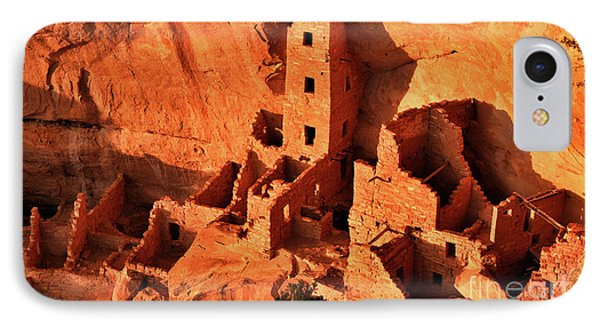 Square Tower House IPhone Case by Jim Chamberlain