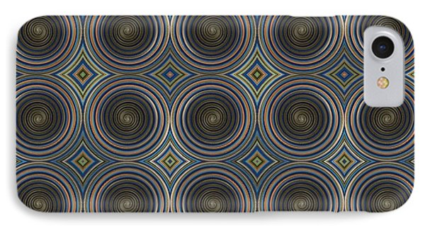 In Squares, Diamonds And Circles IPhone Case