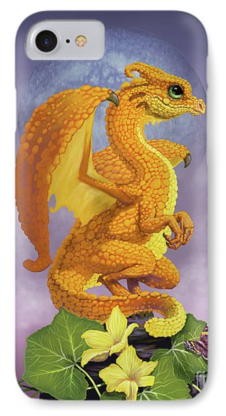 IPhone Case featuring the digital art Squash Dragon by Stanley Morrison