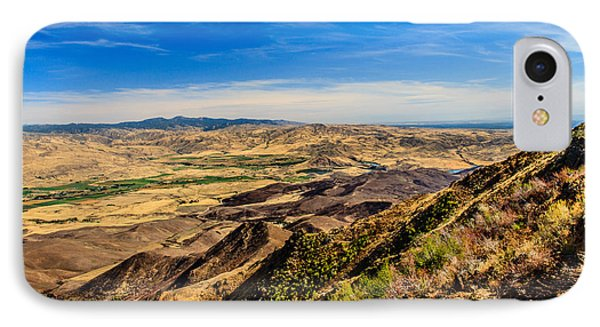 Squaw Butte View Hdr-3 IPhone Case by Robert Bales