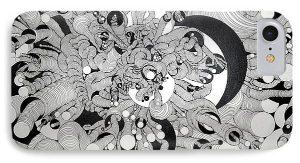 Squiggle Art By Amy IPhone Case