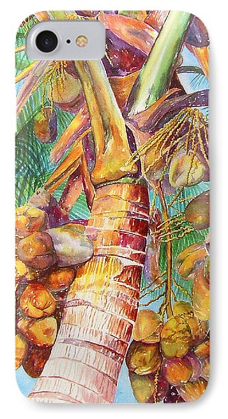 Squire's Coconuts Phone Case by AnnaJo Vahle