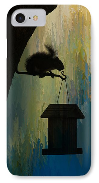 Squirrel  IPhone Case by Carolyn Dalessandro