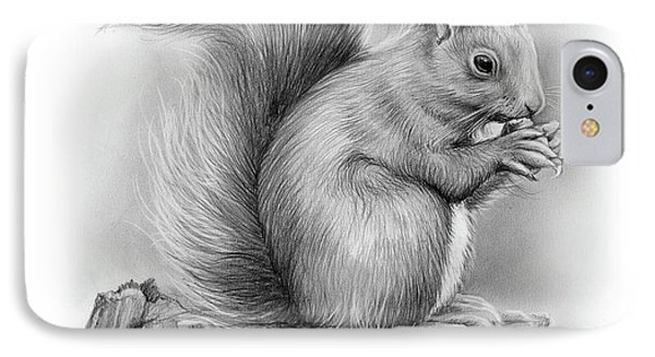 Squirrel IPhone Case by Greg Joens