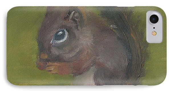 Squirrel IPhone Case by Jessmyne Stephenson