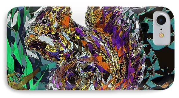 Squirrel Phone Case by Navo Art