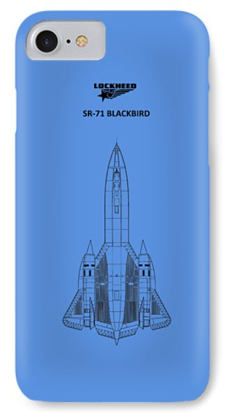 Sr-71 Blackbird IPhone 7 Case