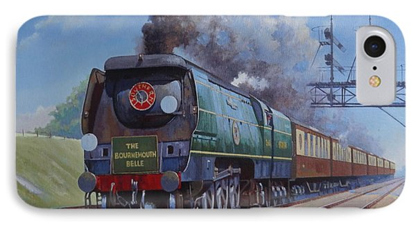 Sr Merchant Navy Pacific IPhone Case by Mike  Jeffries