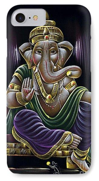 Sri Ganapati IPhone Case by Tim Gainey