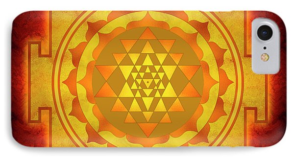 Sri Yantra - No. 1 IPhone Case