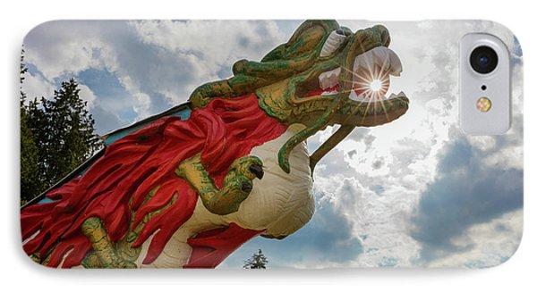 S.s. Empress Dragon Figurehead IPhone Case by Inge Johnsson
