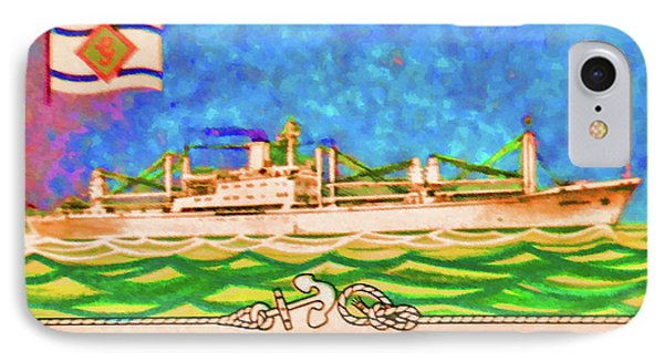 S.s Geestland And House Flag Geest Line IPhone Case by Lanjee Chee