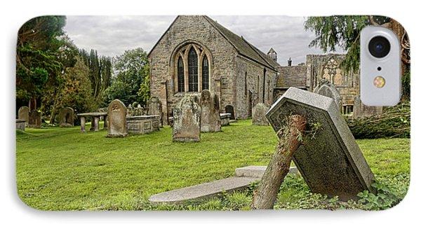 St Agathas Church IPhone Case by Nichola Denny