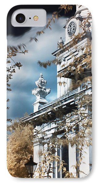 St Alfege Parish Church In Greenwich, London IPhone Case by Helga Novelli