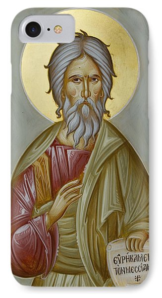 St Andrew The Apostle And First-called Phone Case by Julia Bridget Hayes