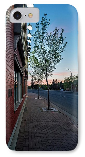 IPhone Case featuring the photograph St. Anne Street At Dusk by Darcy Michaelchuk