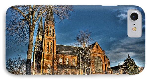St. Annes Detroit Mi IPhone Case by Nicholas  Grunas