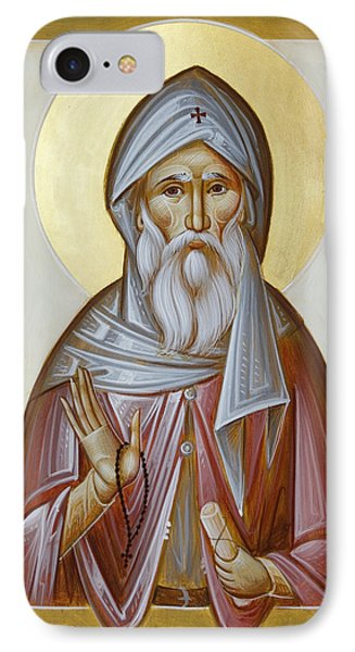 St Anthony The Great Phone Case by Julia Bridget Hayes